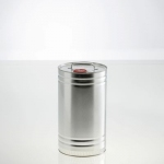 Cylindrical metal container 5 litre UN