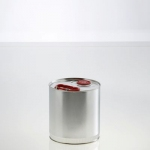 Cylindrical metal container 3 litre UN