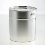 Conical metal container 28 litre UN