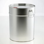 Conical metal container 30 litre UN