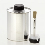 Tin bottle 1.000 ml with brush