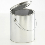 Lever lid pails 3.000 ml with handle