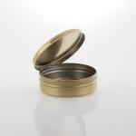 Schraubdeckeldosen Tabak gold 340 ml
