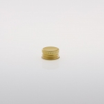 Alu Screw Caps 20 mm gold
