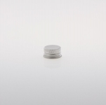 Alu Screw Caps 20 mm silver