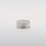 Alu Screw Caps 38 mm silver