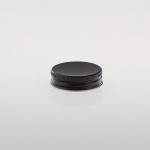 Alu Schraubkappen 42 mm schwarz H=13mm