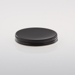 Alu Schraubkappen 70 mm schwarz
