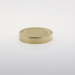 Twist-Off Verschluss 66 mm gold