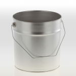 Metal pail 5 litre without lid
