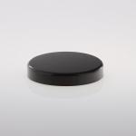 Kunststoffdeckel 100 mm schwarz