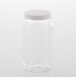 "PET Jar ""Recessed"" 2.000 ml with plastic lid"