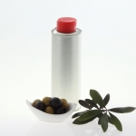Nutritional Oil Bottle silver 250 ml