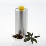 Nutritional Oil Bottle silver 750 ml