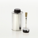 Tin bottle 500 ml with brush