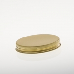 Alu Schraubkappen 70 mm gold