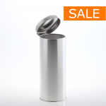 Slip lid can 73/180 MATT silver 600 ml !SALE!