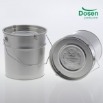 !NEW! ZERO WASTE Metal pail 3 litre food safe with lid embossing