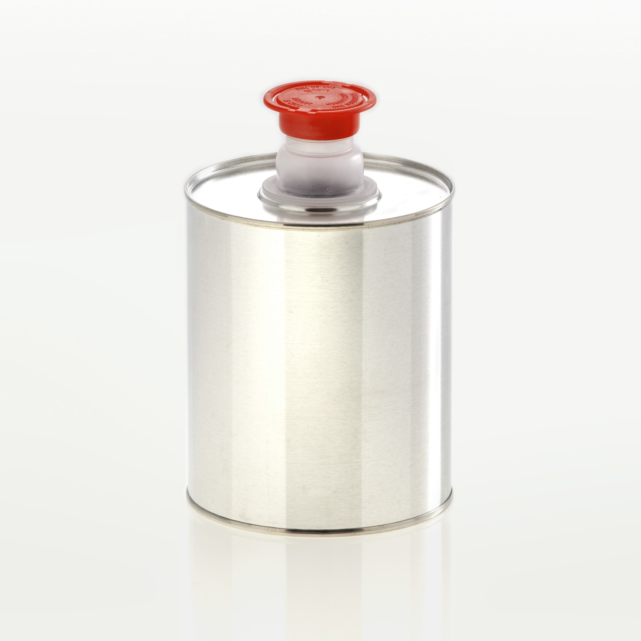 Tin bottle 1.000 ml pull-out spout