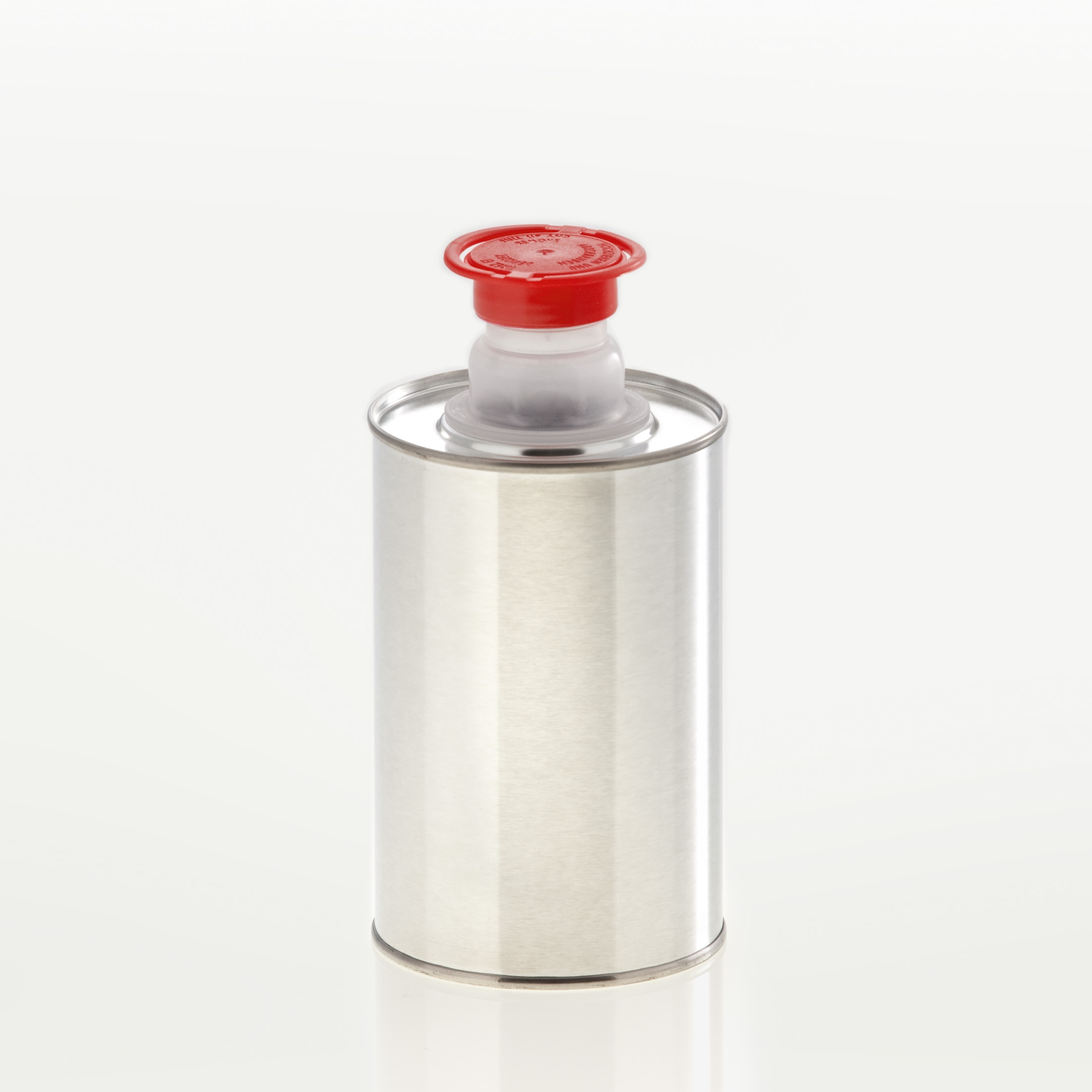 Tin bottle 500 ml UN pull-out spout