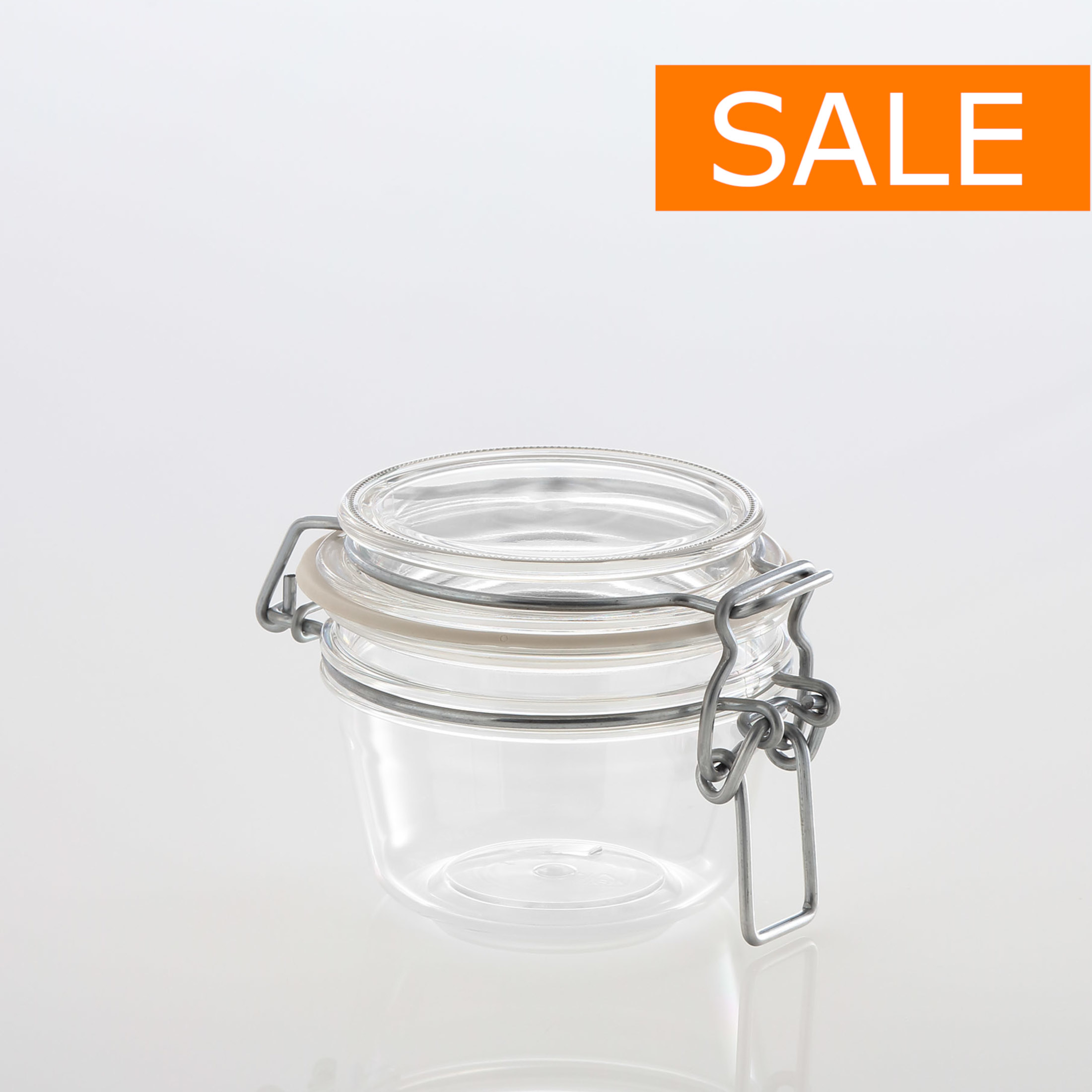 CLIP JAR 125 ml !SALE!