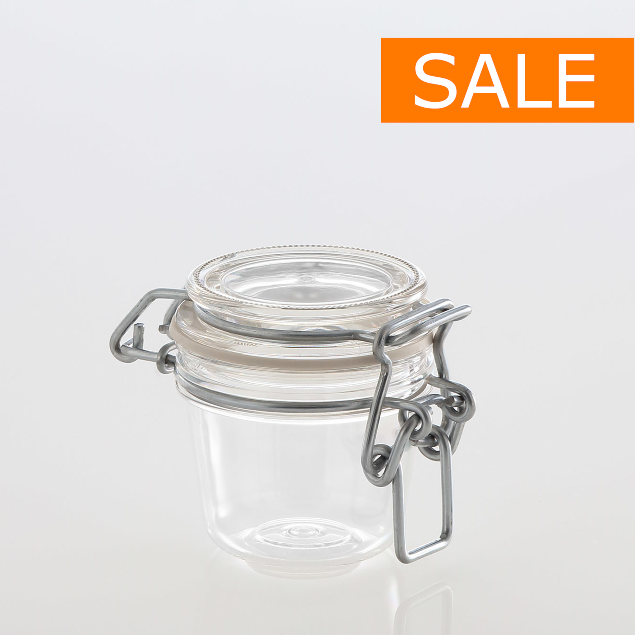 CLIP JAR 50 ml !SALE!