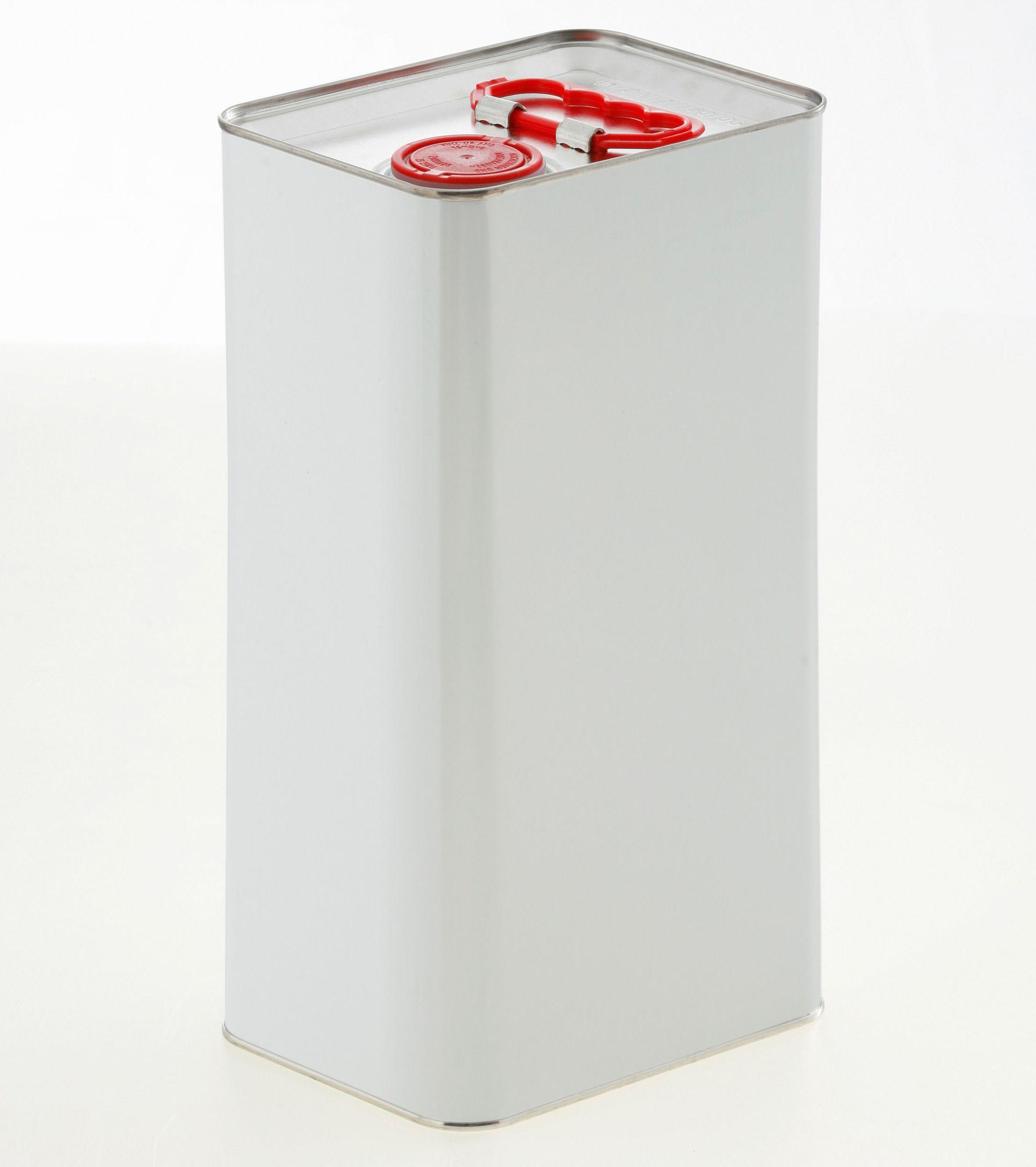Blechkanister 5 Liter UN weiß