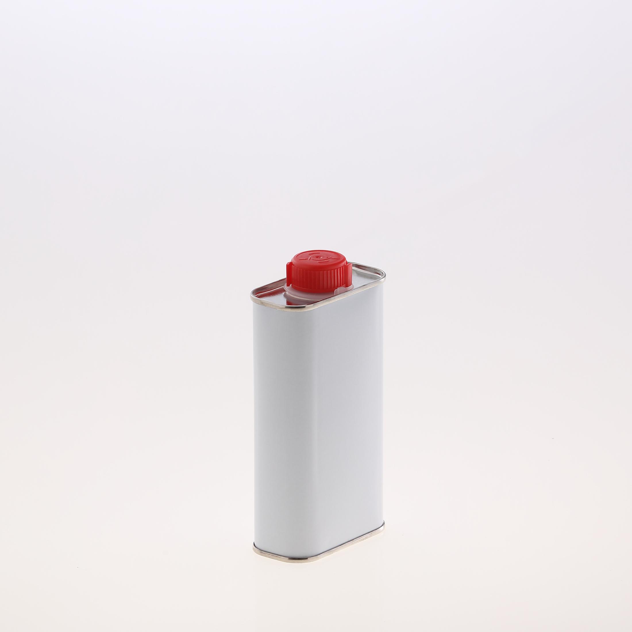 Blechkanister 250 ml weiß