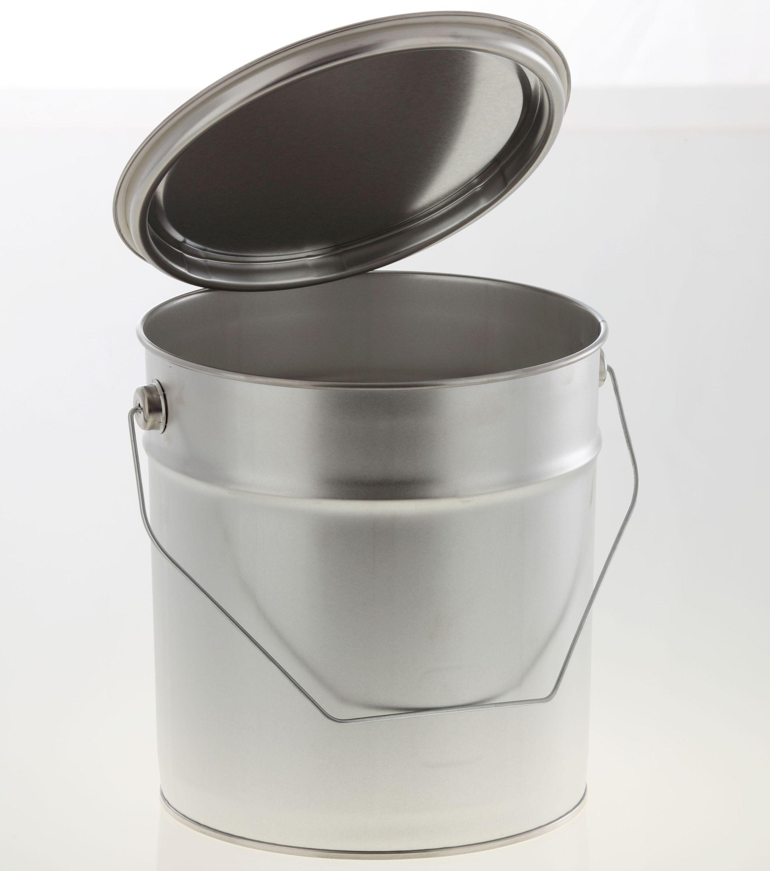 !NEU! Metalleimer 3 Liter lebensmittelecht OHNE Spannring