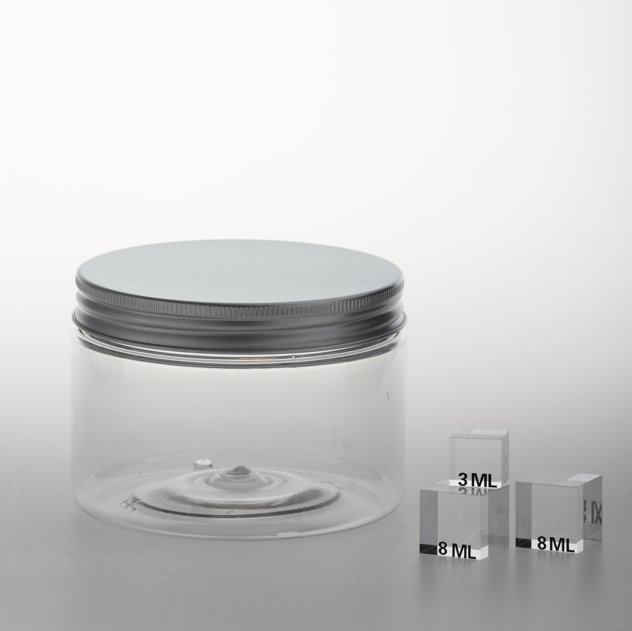 "PET Jar ""SC 100"" 450 ml with inside cover"