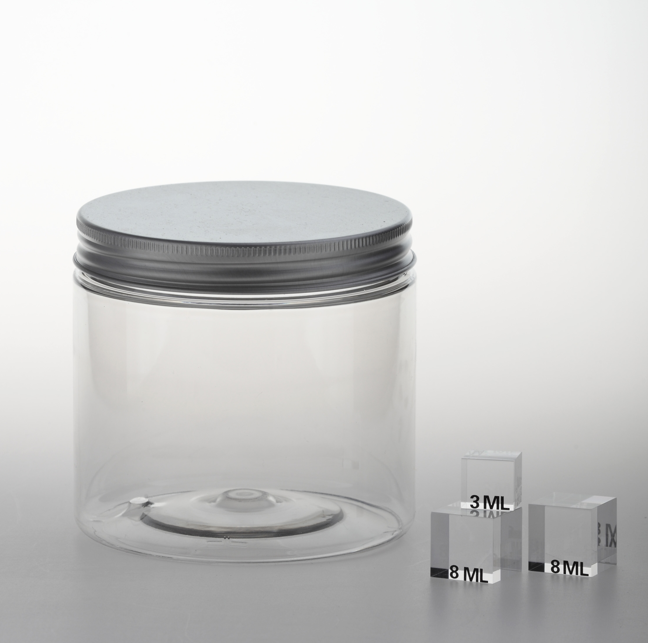 "PET Jar ""SC 100"" 600 ml with inside cover"