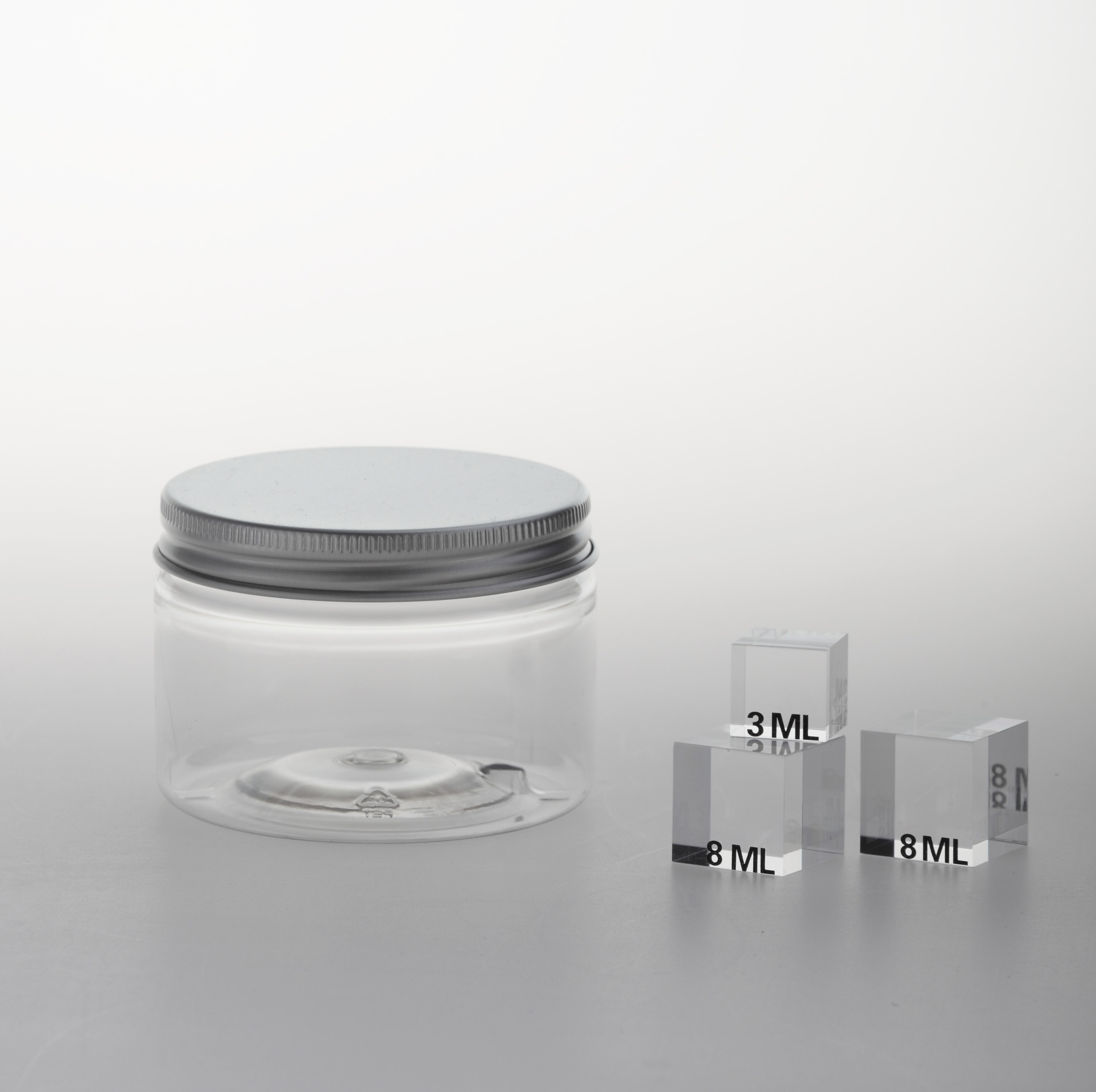 "PET Jar ""SC 70"" 150 ml with inside cover"