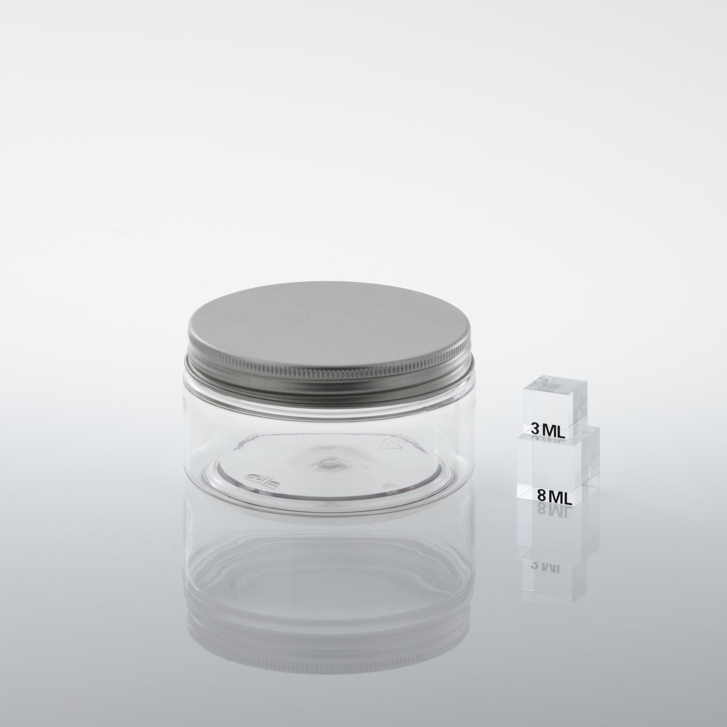 "PET Jar ""SC 89"" 200 ml with inside cover"