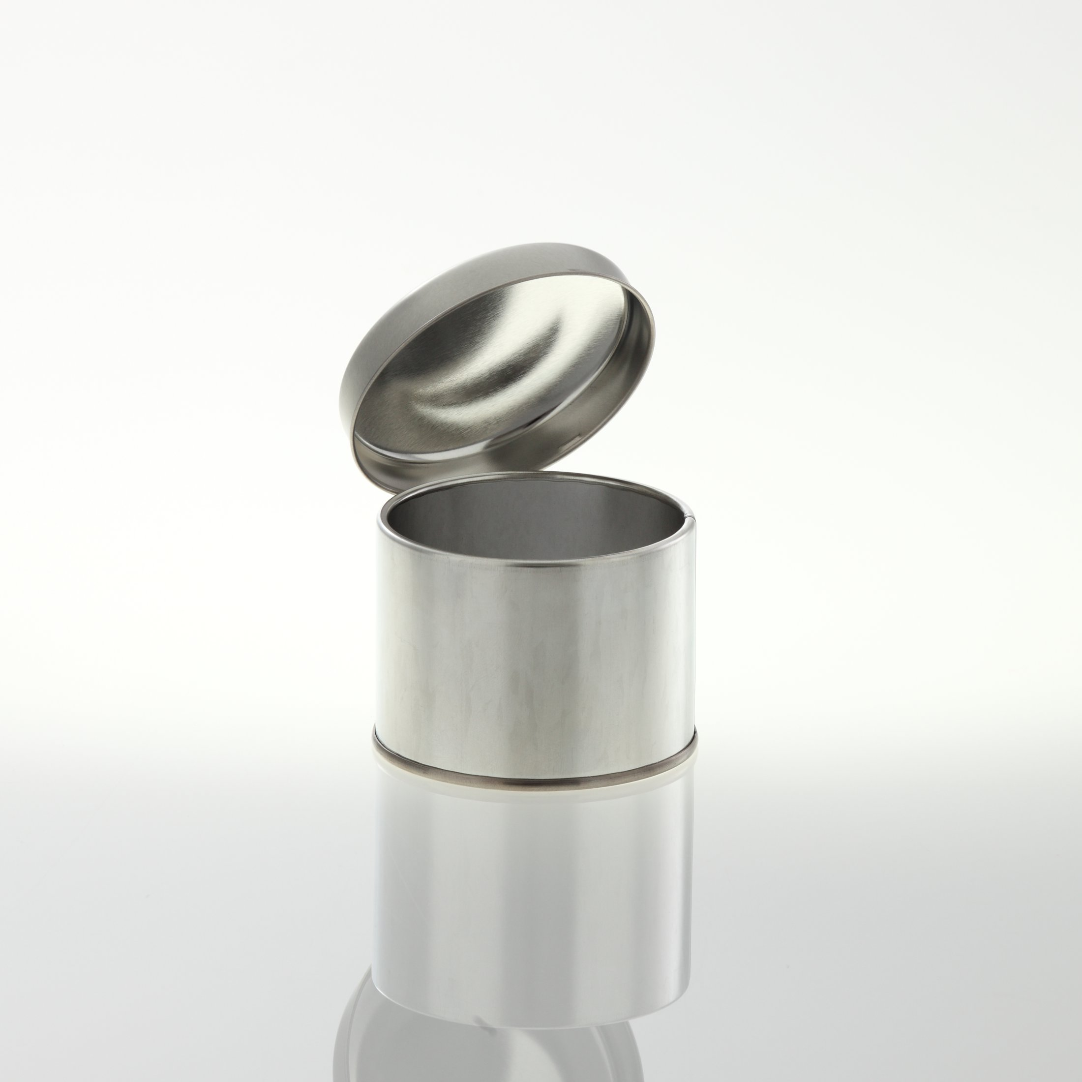 Slip Lid Can 73/55 silver 200 ml